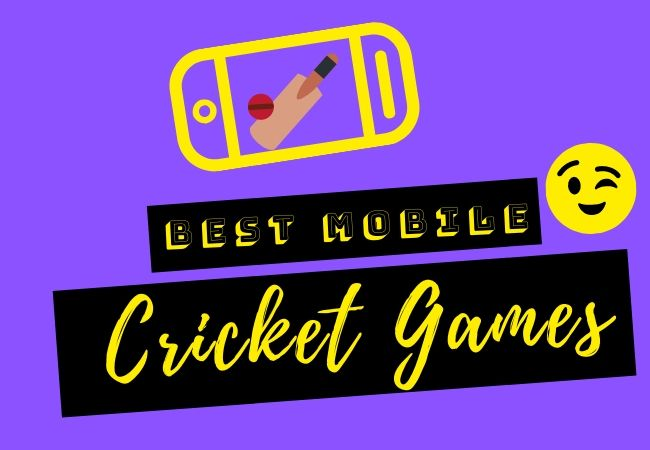 Mobile cricket games download from app store and start playing