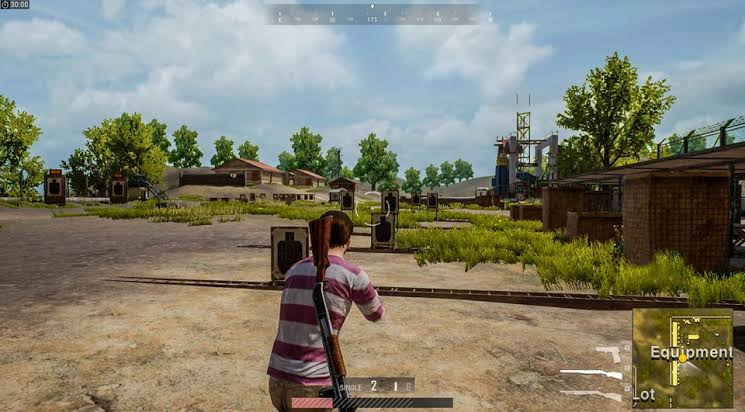 PUBG Gameplay on Computer after installing the game on PC