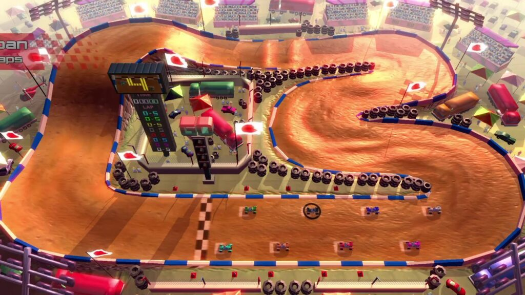 Rock 'N Racing Off Road DX is pretty naive