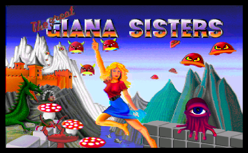 These Awful Xbox Game The Great Giana Sisters is not the game you might want to play
