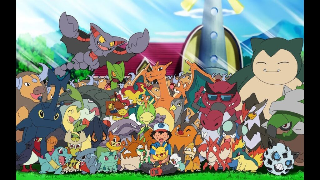 All old Pokemon's