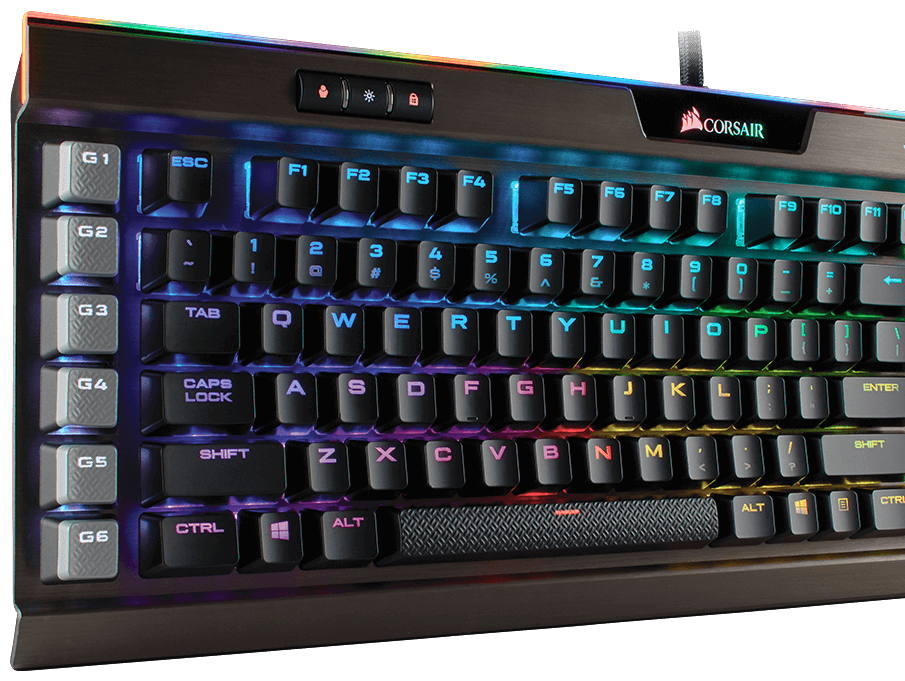 Corsair K95 RGB Platinum with 8mb memory to save you data