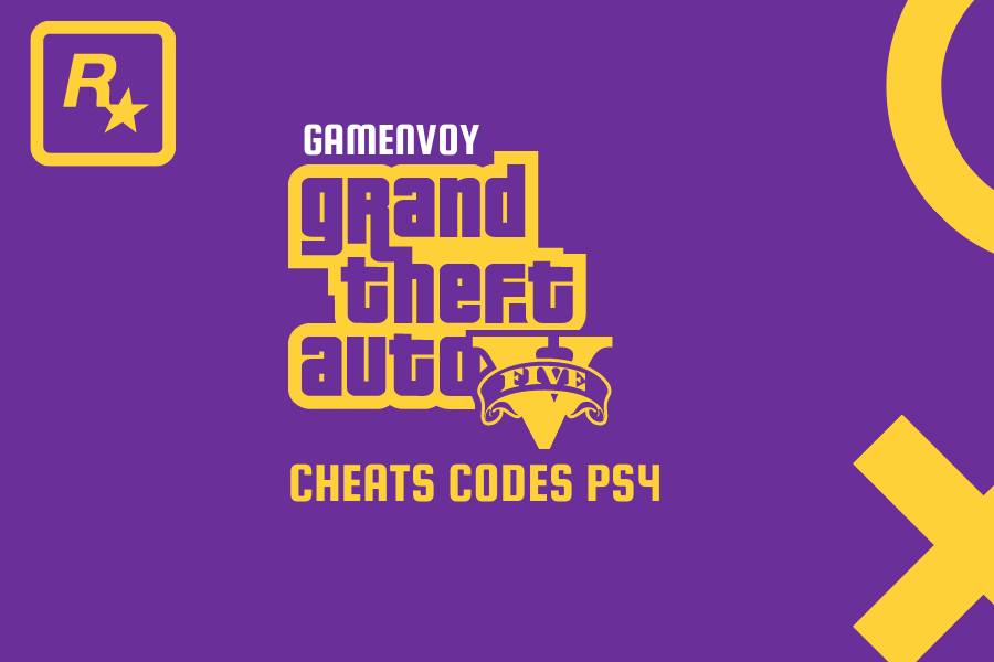 GTA V Cheat Codes for PS4 complete list of unlockables