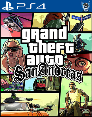 GTA San Andreas Cheat Codes PS4