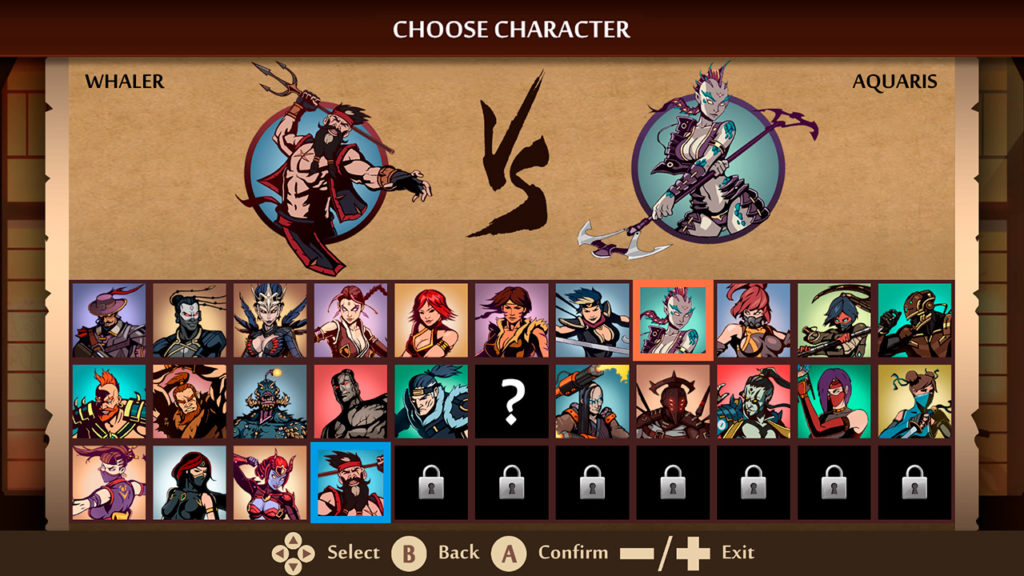 Shadow Fight 2 Game Character