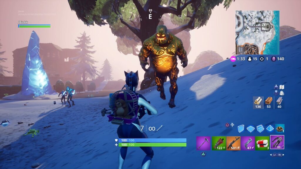 Husks Zombies Types in Fortnite