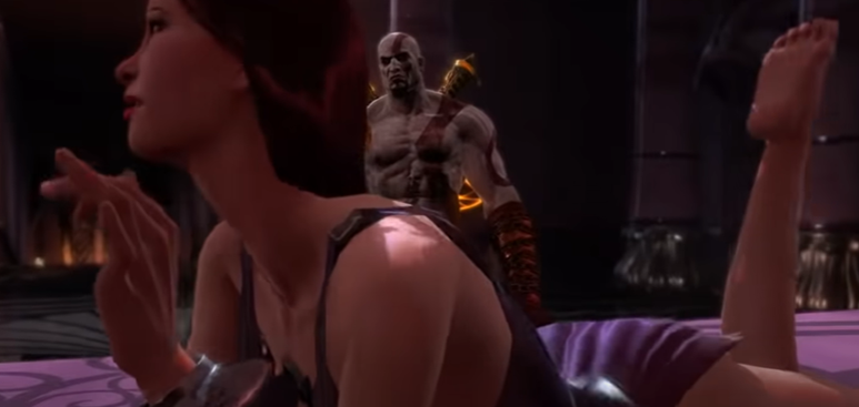 God of war ultimate sexuality