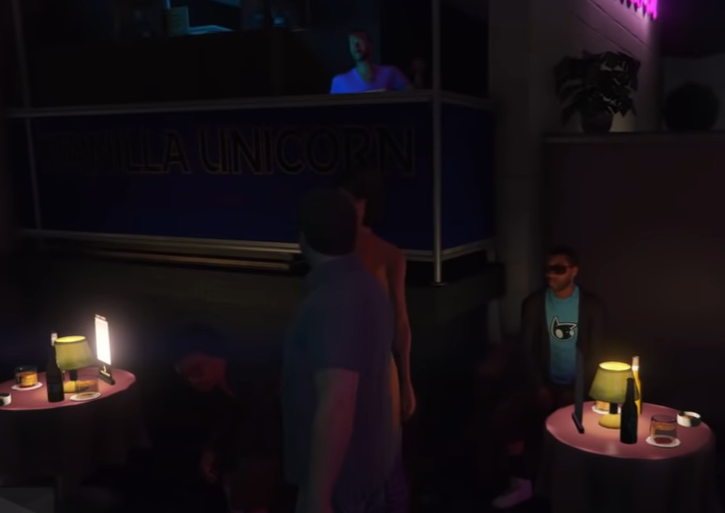 GTA 5 Strip Club with Nude Models